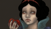 <h5>Snowwhite and the poisoned aplpe</h5>